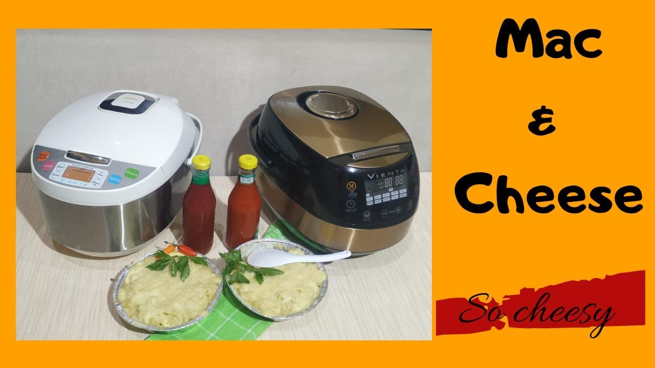 Resep Mac Cheese Home Made Smart Cooker Vienta Rice Cooker Youtube