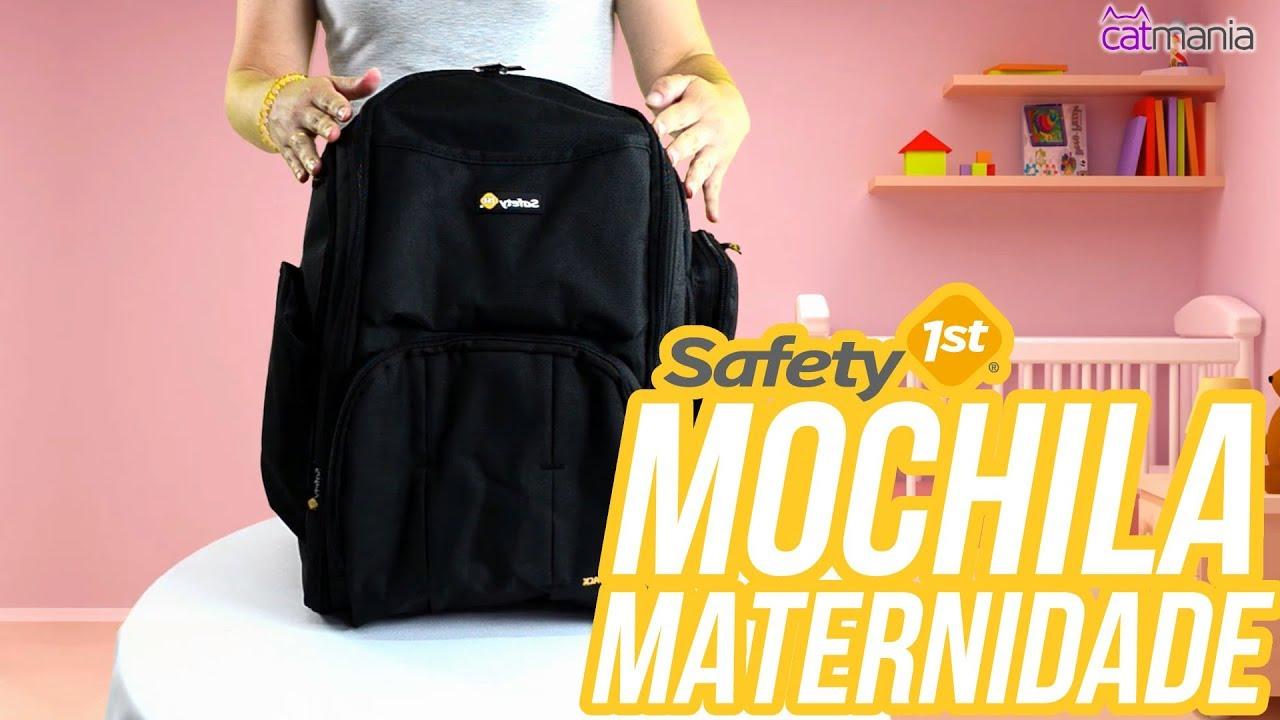 Mochila Maternidade Safety 1st - Review. Catmania Bolsas e Mochilas dfbe7b80776