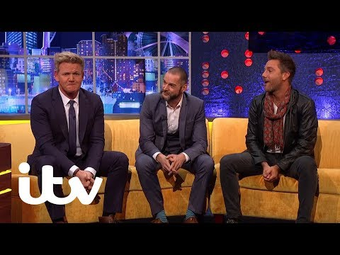 The Jonathan Ross Show   Gino D'Acampo's Terrible Driving   ITV