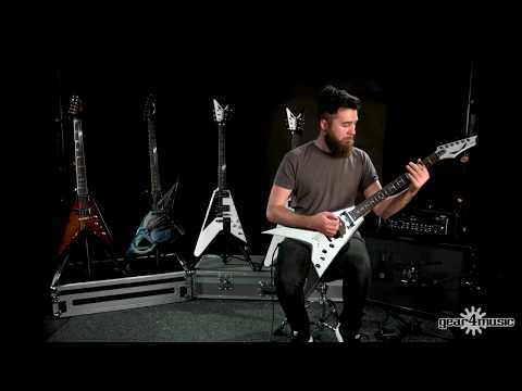 Chitarra Flying stile a V Dean Guitars Dave Mustaine United Abomination