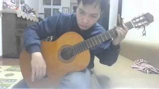 Trang duoi chan minh - Guitar