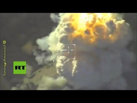 Rusia Realiza Ataques De Precisión Contra Instalaciones Del Frente Al Nusra En Idlib
