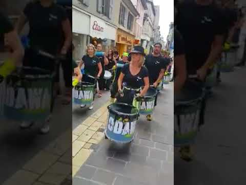 ODAWA samba reggae à Carcassonne 14/07/2017