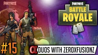 GETTING CARRIED BY ZEROxFUSIONZ! – Fortnite Battle Royal (Xbox One, PS4 & PC)