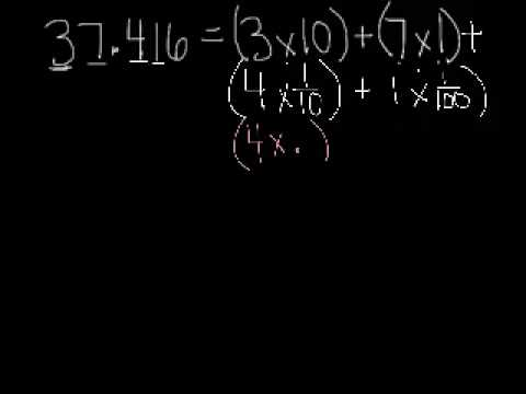 expanded form using fractions  Expanded Form Using Fractions and Decimals