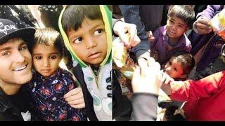 ProTv: Ionel Istrati a cumparat dulciuri copiilor saraci din India. Ce mesaj are acesta