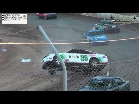 Brett Henri Street Stock Crash Gulf Western & Independent Oils Raceway Latrobe 8/12/18