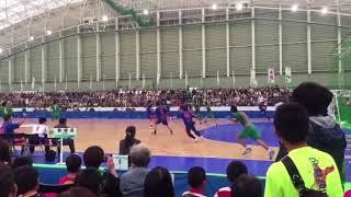 宮崎大輔選手の高すぎる超ジャンプサイドスカイ【愛媛国体ハンドボール】