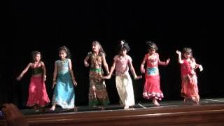 Bole Chudia Kids Dance Performance - Rivermark Diwali 2012