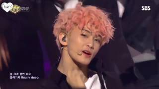 Mark looks so freaking handsome in good thing i decided to make a compilation of 4 performance 170105 170106 170107 170108