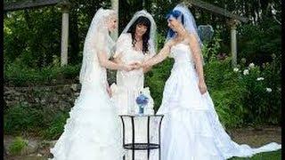 Lesbian Thresome Marriage