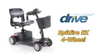 Drive Medical Spitfire EX 4-Wheel Scooter