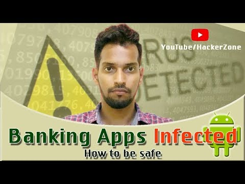 BANKING APPS INFECTED | HOW TO BE SAFE ? #BANKING MALWARE