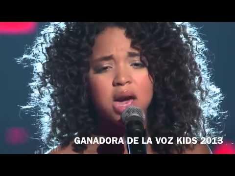 Paola Guanche - No Me Queda Màs ( La Voz Kids) 2013