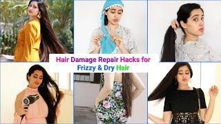 How to Get rid of Frizzy & Dull Hair | #extreme Hair Growth #controlhairfall #hairhacks