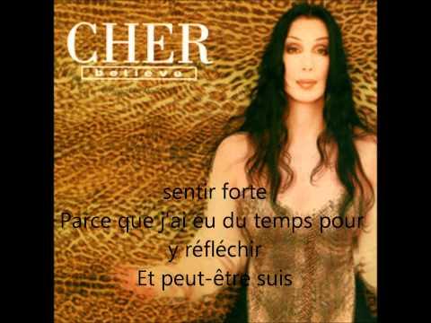 Cher believe paroles en francais