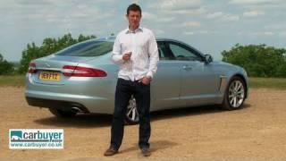 Jaguar XF saloon review - CarBuyer