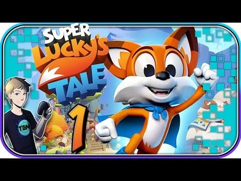 Super Lucky's Tale Walkthrough - Part 1: A Joyful Adventure!