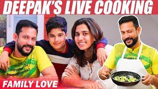 Inside Deepak's Kitchen : Mouth Watering Creamy Mushroom Pasta
