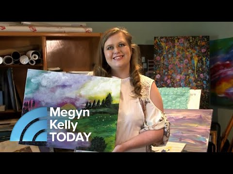 How Painting Unlocked 1 Woman's Abilities As A Savant | Megyn Kelly TODAY