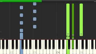 Rolling Stones - Paint It, Black - Piano Cover Tutorials - Backing Track