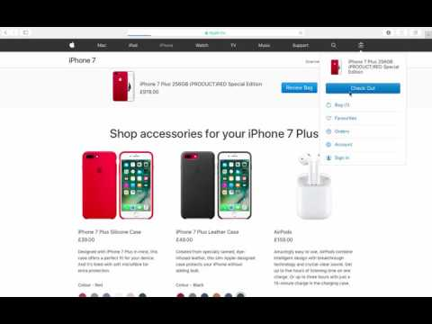 HOW TO GET A FREE IPHONE 7 ON THE APPLE WEBSITE!! APRIL/MAY