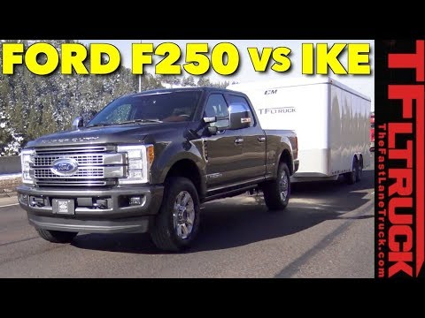 2018 Ford F-250 Diesel takes on the World's Toughest Towing Test!
