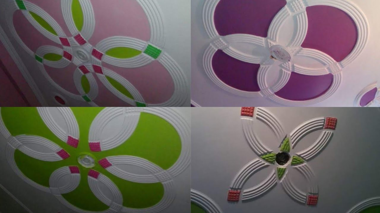 Roof Fan Box Color P O P Design Pop Design Rk P O P Contractor Youtube