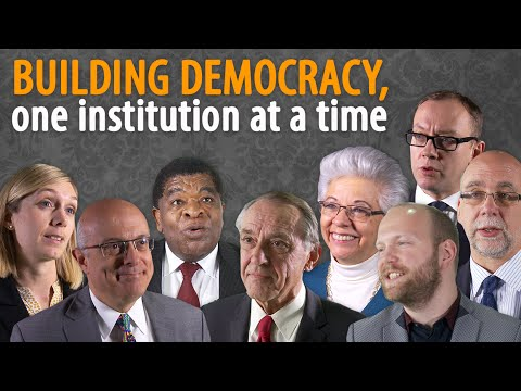 Building democracy: Accountability, context and trust