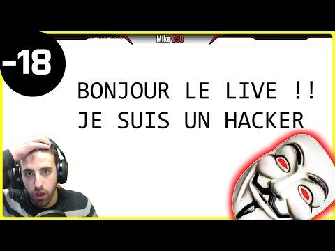 JE ME FAIS HACK EN PLEIN LIVE !!  IL CONTRÔLE MON PC !!