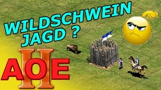 AOE 2 Wildschwein JAGD Taktik + Tipps & Tricks Tutorial Strategie Guide German