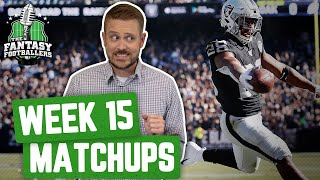 Fantasy Football 2019 - Week 15 Matchups + In-or-Out, Cookin' by the Book - Ep. #837