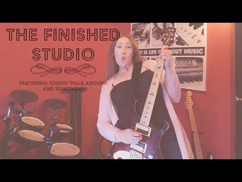 IT'S FINISHED! | Creating A Recording Studio | HOME RENOVATION PROJECT &  DIY | Home Studio (Part 4)