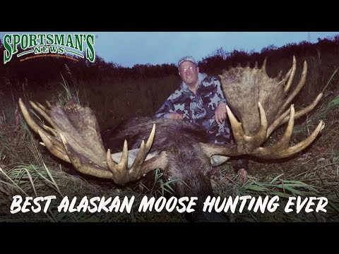 Best Alaskan Moose Hunting Ever