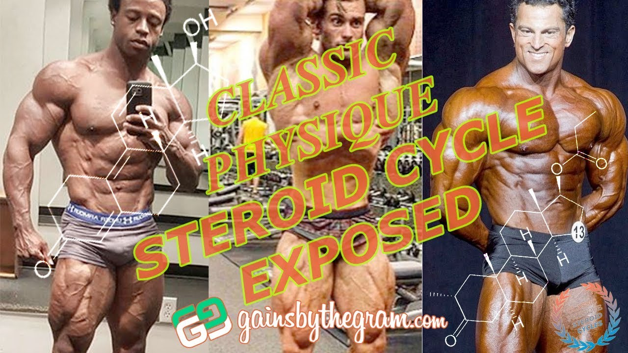 Classic Physique steroid cycle usage revealed