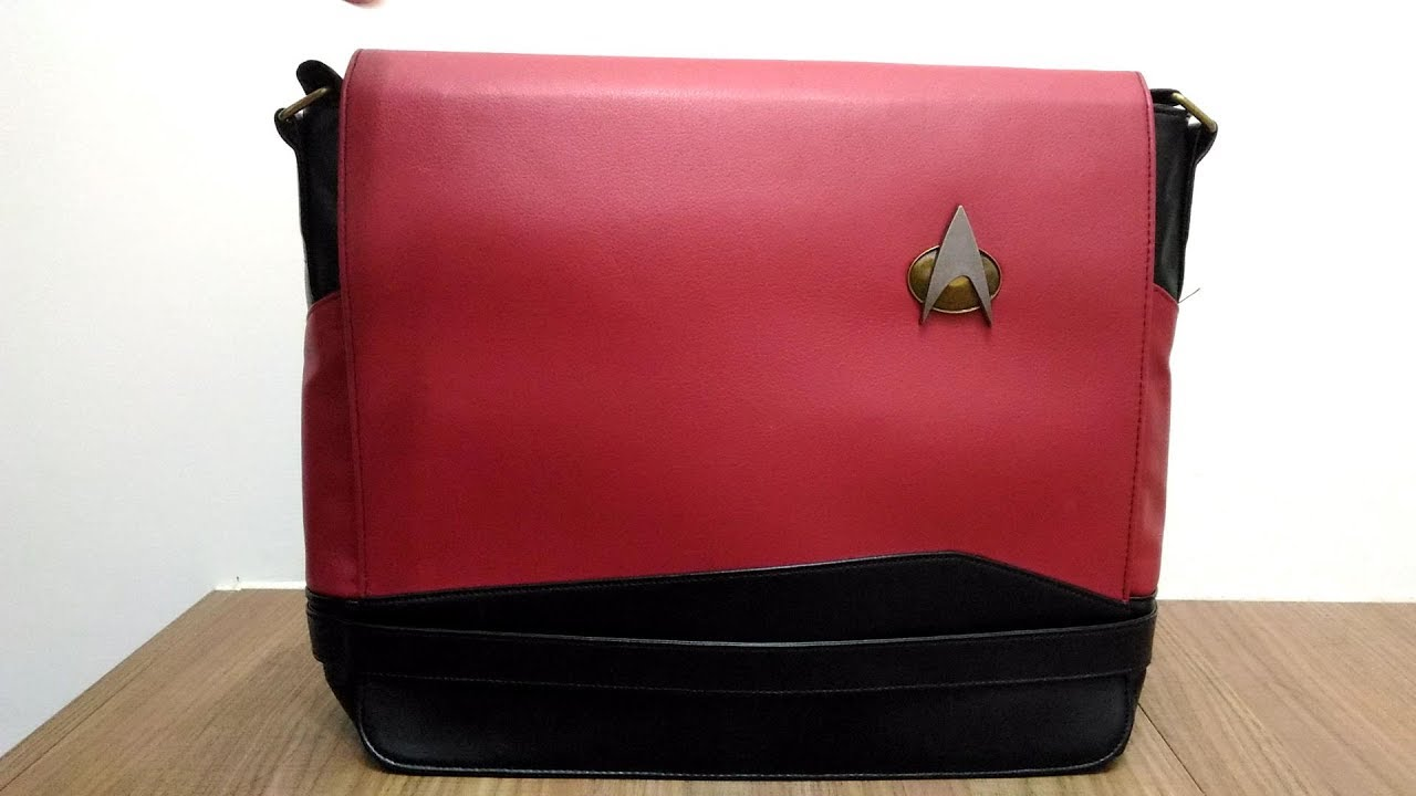 22d81c199b8f 開箱  TNG制服郵差包- Red (Star Trek TNG Uniform Messenger Bags ...