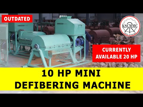 10 Hp Mini Defibering Machine By Kerala State Coir Machinery Manufacturing Company (KSCMMC)