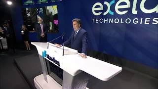 Exela Technologies Opening Bell Ceremony at NASDAQ