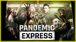 POCIĄG PEŁEN ZOMBIE! | Pandemic Express [#1] (With: Eybi) | BLADII