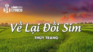 Về Lại Đồi Sim - Thùy Trang