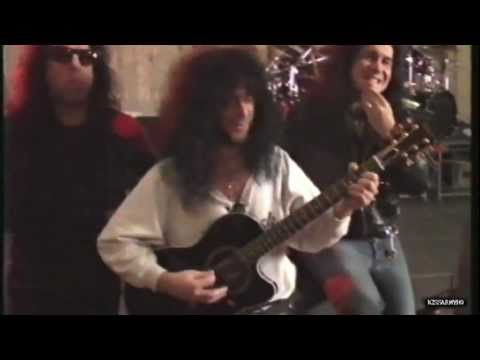 KISS  Play 'The Beatles' etc. / Eric Carr on guitar [ HOT IN THE SHADE rehearsals ]