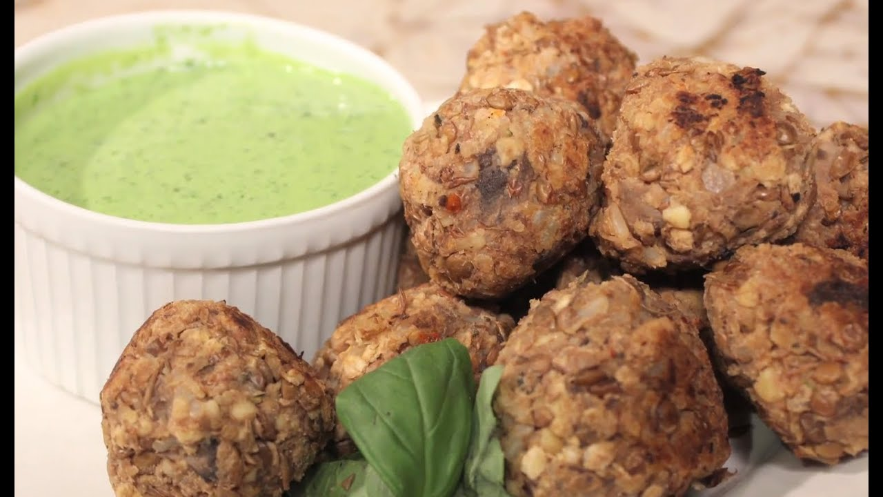 Save the Kales! - Lentil and Mushroom Vegan Meatballs with ...