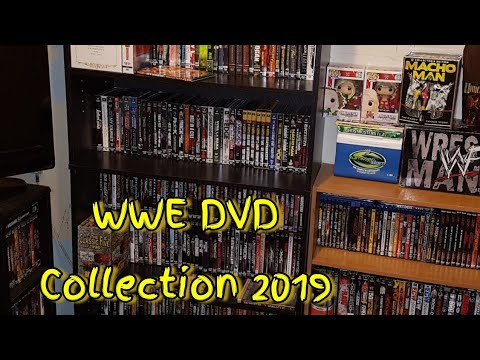 Complete WWE DVD Collection 2019