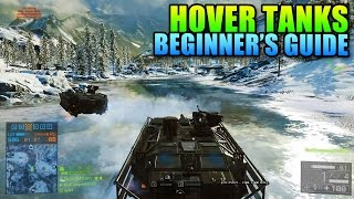 battlefield 4 Hover Tank Guide  BF4 Final Stand Gameplay