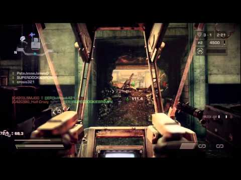 Killzone 3 Online ER vs C420 game 1of2 Corinth Highway Warzone 5312011