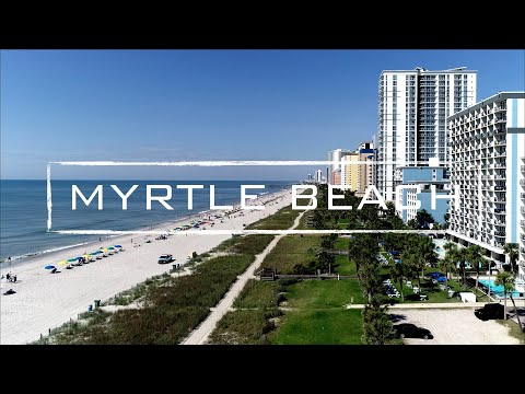 Myrtle Beach, South Carolina | 4K Drone Video