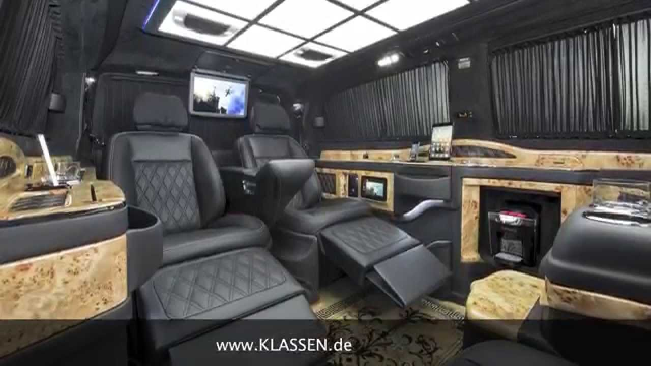Klassen Car Design Technology 174 Viano Vip Business Luxus