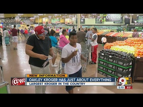 Biggest Kroger in the country opens in Oakley