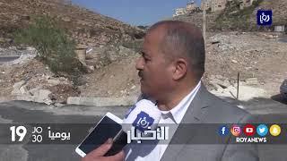 تنفيذ مشروع عبارات صندوقية في على طريق وادي الغفر - (8-11-2017)