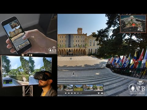 AUB 360 VR - AMERICAN UNIVERSITY OF BEIRUT 360 PLATFORM